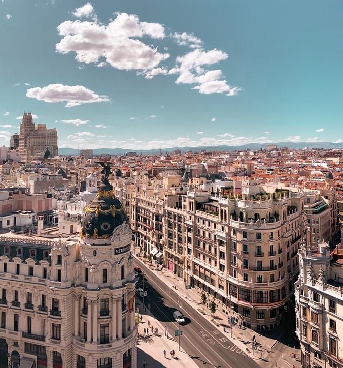 Tussenstop in Madrid